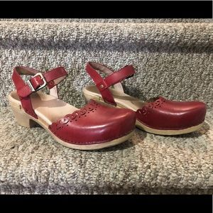 Dansko Marta Mary Jane in Red